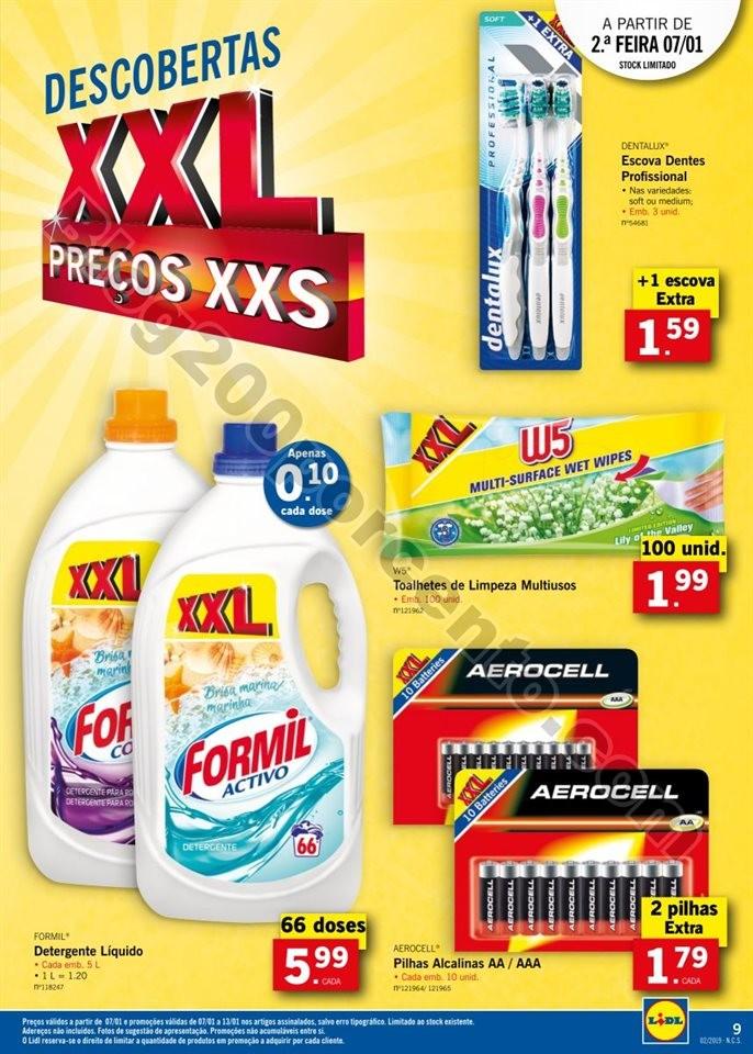 Antevisão Folheto LIDL XXL promoções de 7 a 13