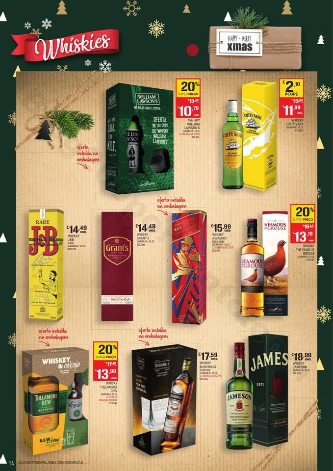 Continente Folheto Feliz Natal 19 novembro a 24 de