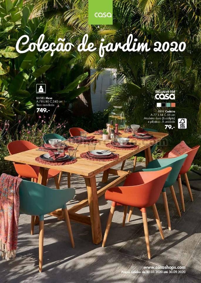 antevisão folheto CASA Jardim Promoções de 30 m