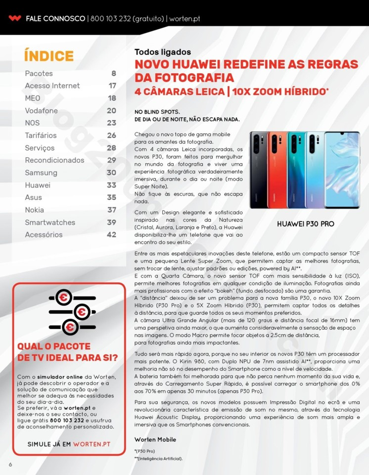 Antevisão Folheto WORTEN Mobile Promoções até