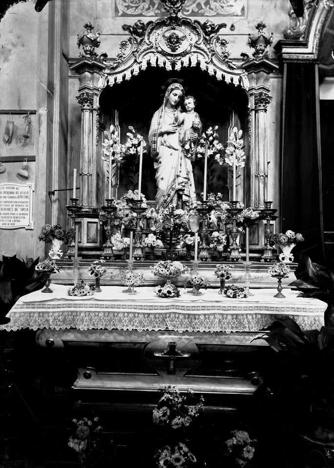 Convento dos Cardais, imagem de Nossa Senhora dos