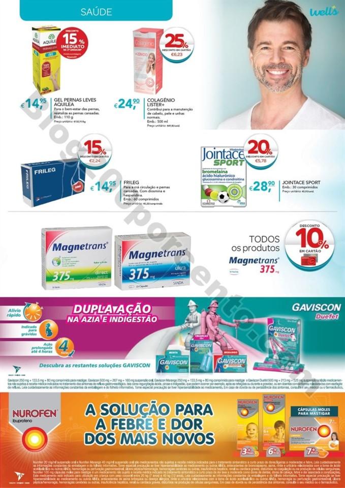 Antevisão Folheto WELLS Promoções de 30 julho a