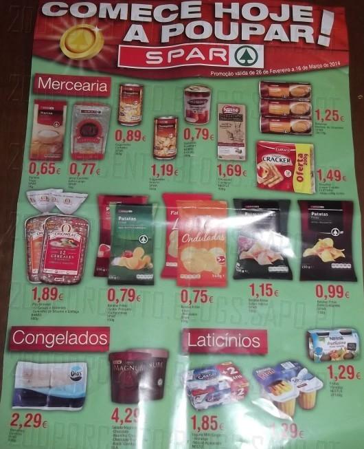 Novo folheto | SPAR | até 16 março