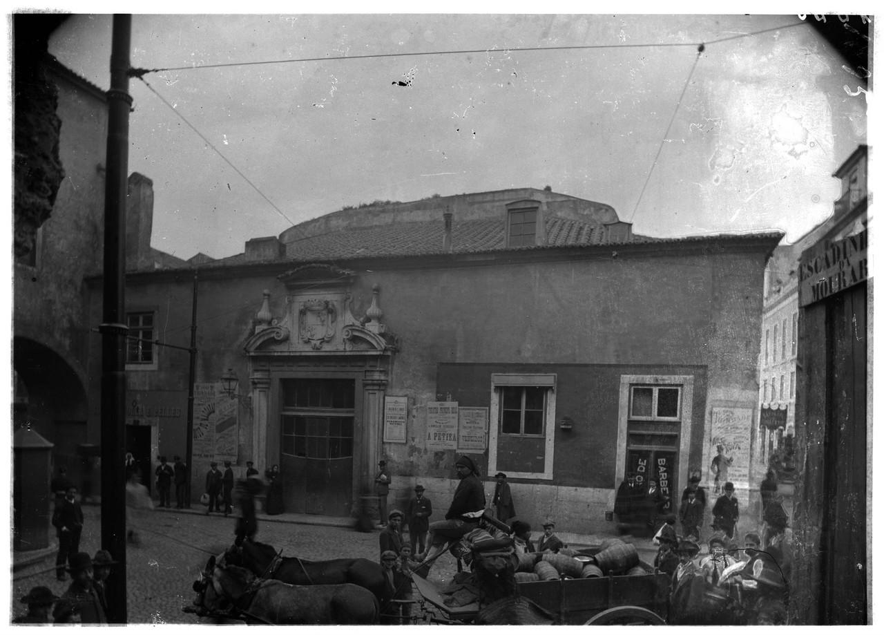 Palácio do Marquês de Alegrete, fachada da Rua d