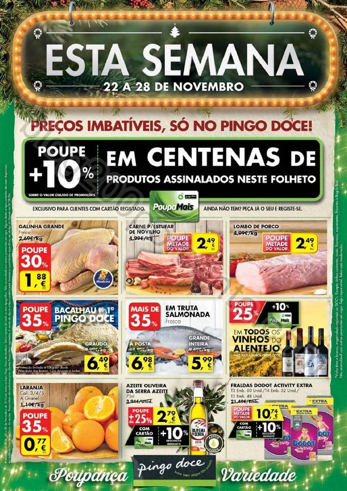 Antevisão Folheto PINGO DOCE Madeira de 22 a 28 n
