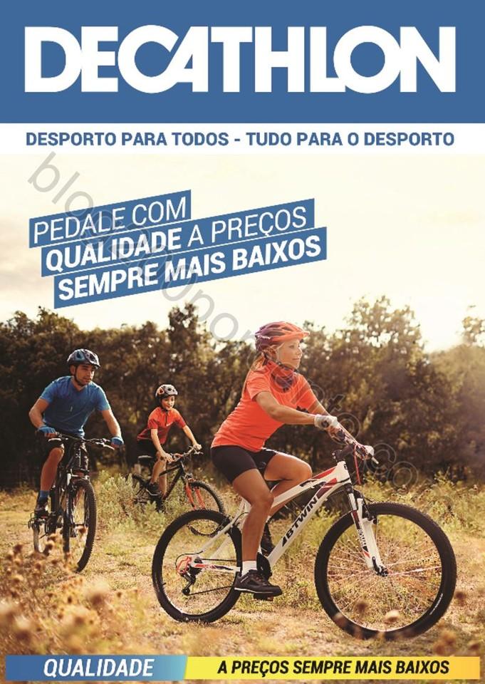 45d2b8476 Novo Folheto DECATHLON Preços Baixos - Ciclismo - Blog 200% - Últimos  Folhetos