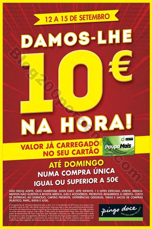 Folheto PINGO DOCE Fim de semana 12 a 16 setembro