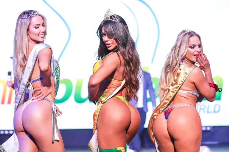 Miss Bumbum World 2019 (2.ª Rayane Laura,1.ª Suz