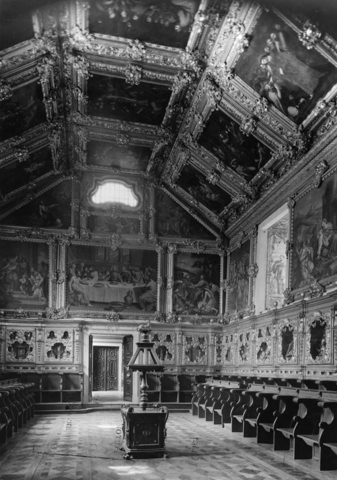 Igreja da Madre de Deus, interior, anos 50, foto d