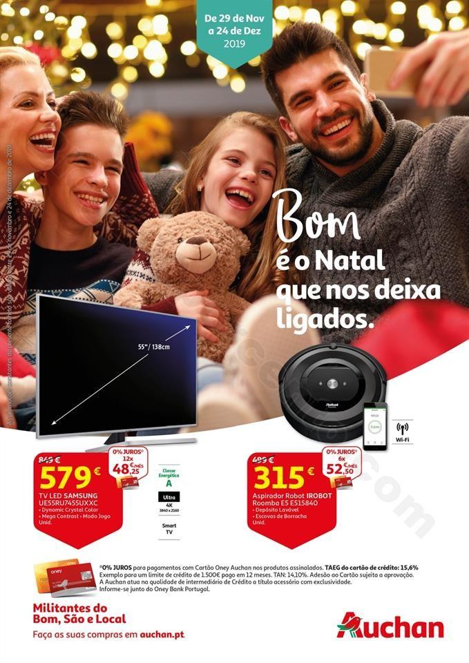 Antevisão Folheto AUCHAN - BOX Natal Promoções