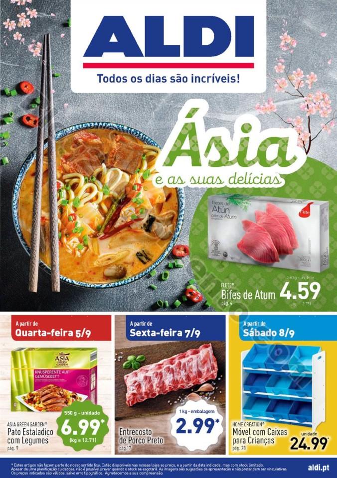 Antevisão Folheto ALDI Promoções a partir de 5