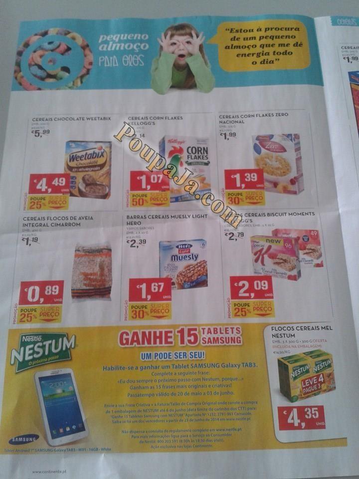Antevisão Promoções Novo Folheto Continente- de 27 de maio a 2 de junho