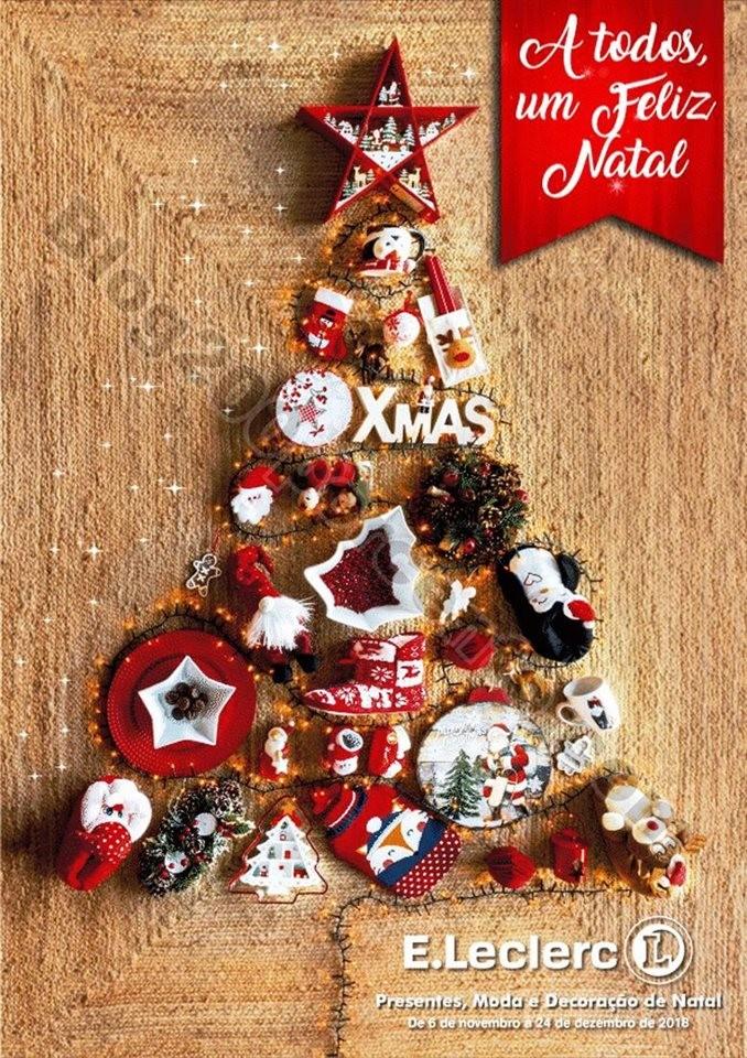 Antevisão Folheto E-LECLERC Natal promoções de