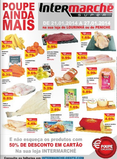 Extra Folheto | INTERMARCHÉ | Lourinhã - Peniche de 21 a 27 janeiro