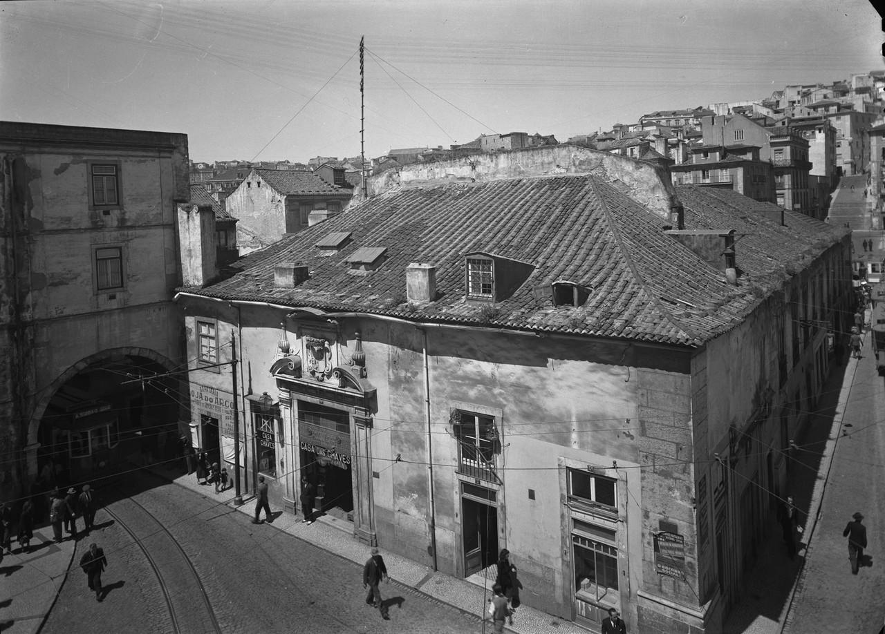 Palácio do Marquês de Alegrete , ant. 1946, foto