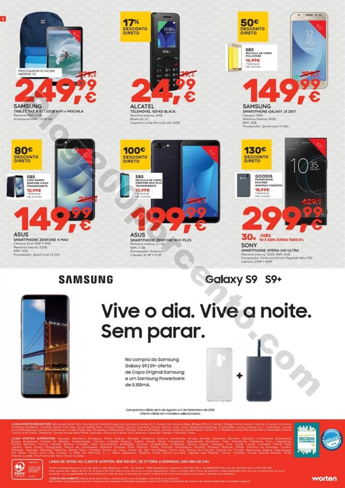 Antevisão Folheto WORTEN Promoções de 16 a 22 a