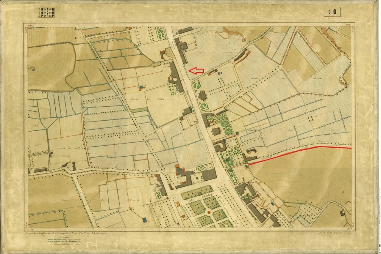 Planta Topográfica de Lisboa  9 Q, 1906, de Alber