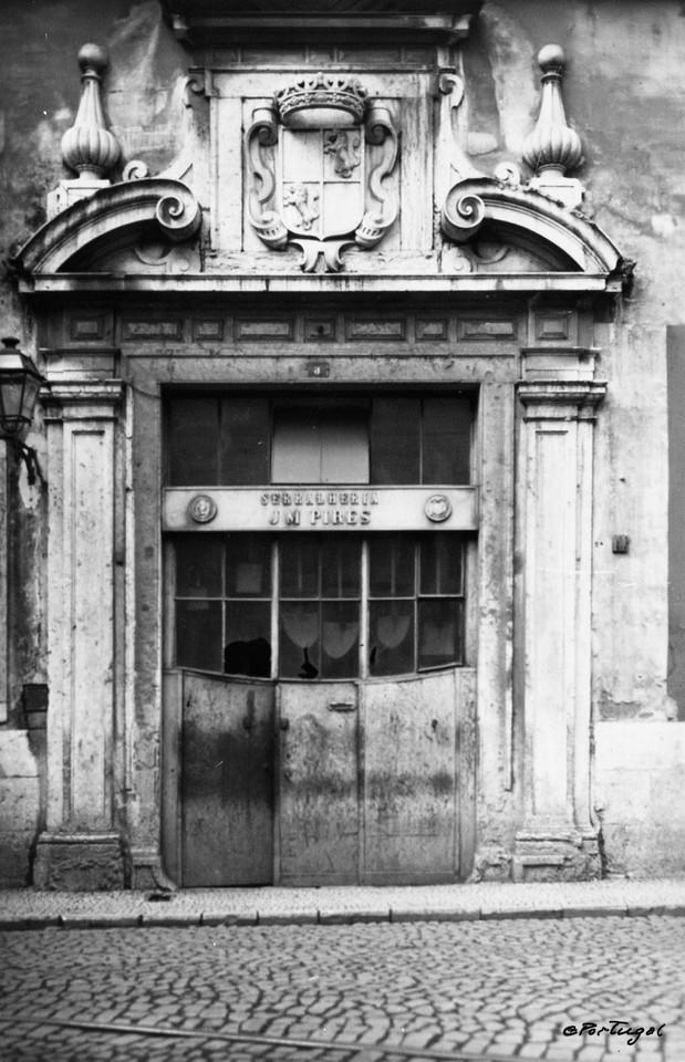 Palácio do Marquês de Alegrete, portal brazonado