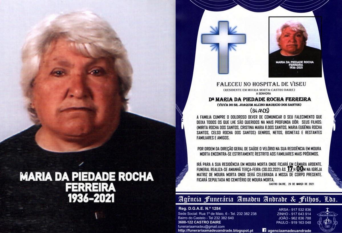 FOTO RIP DE MARIA DA PIEDADE  ROCHA  FERREIRA-84 A
