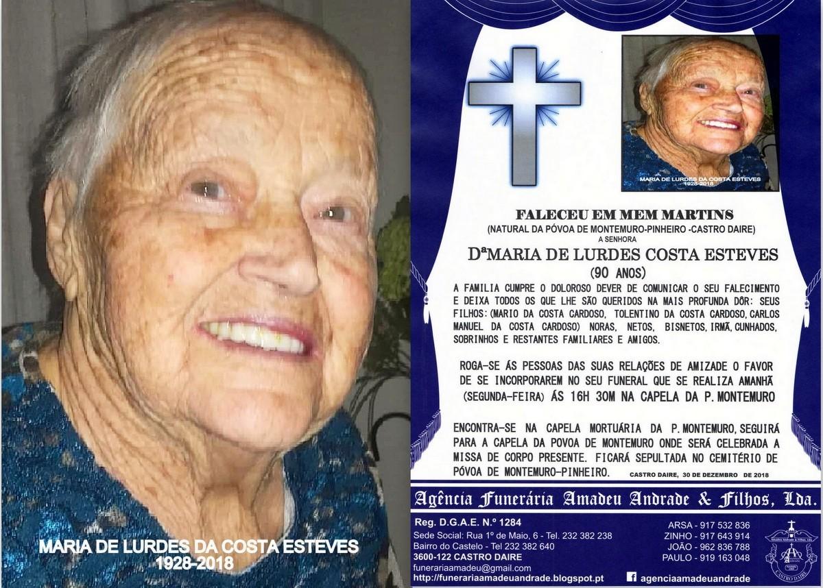 FOTO RIP DE MARIA DE LURDES-90 ANOS (P.jpg