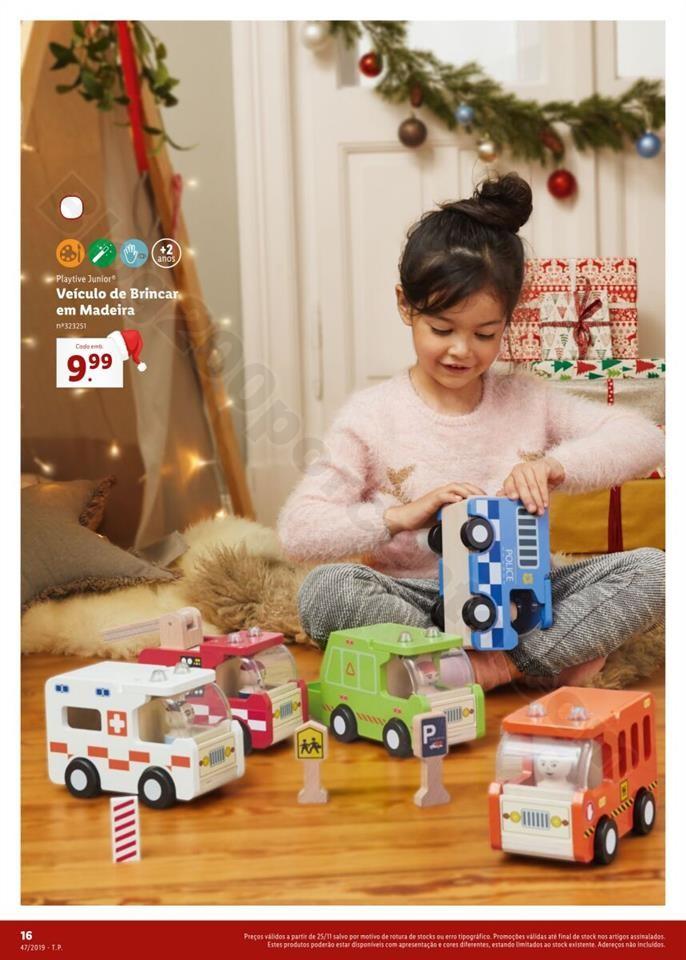 Antevisão Folheto LIDL Especial Brinquedos Natal