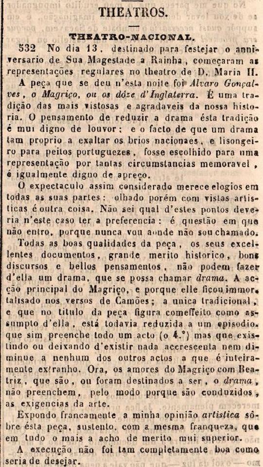 Revista Universal Lisbonense - jornal dos interess