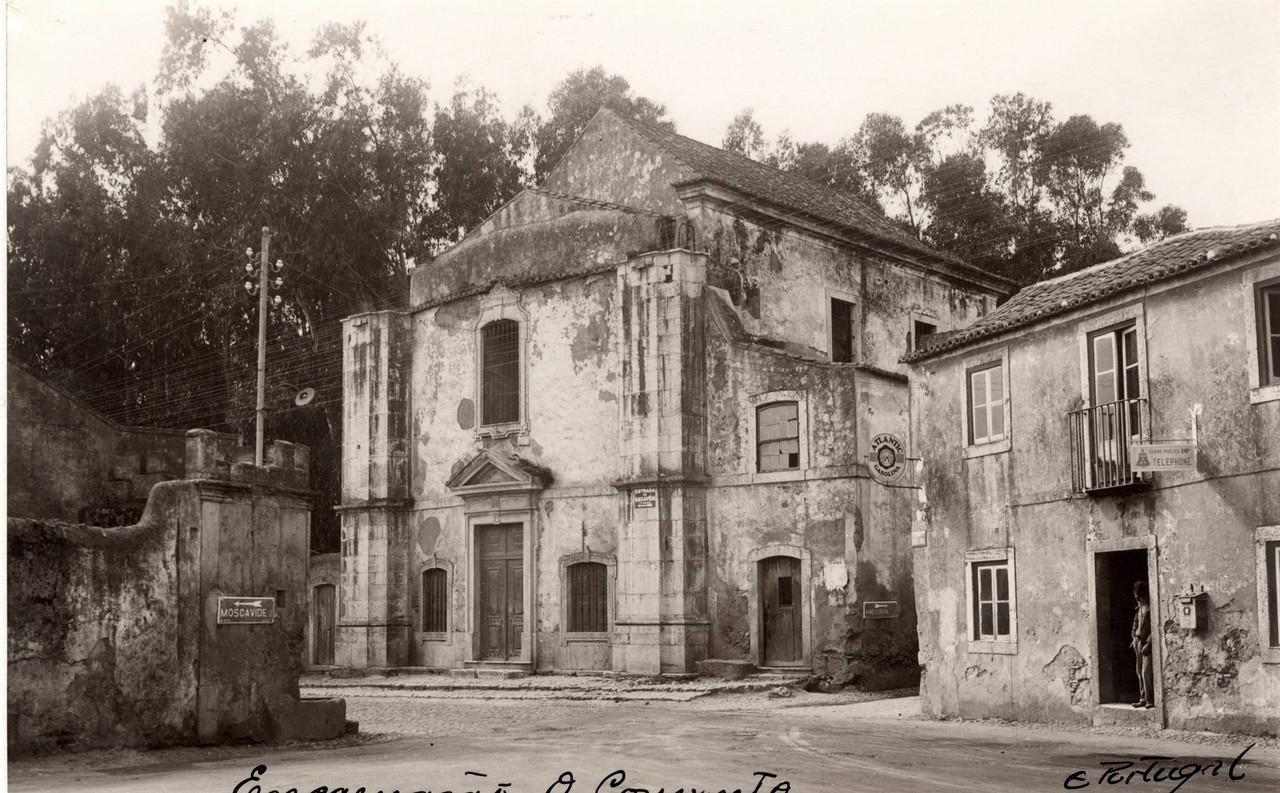 Ruínas de uma Igreja na Encarnação,1939, foto d
