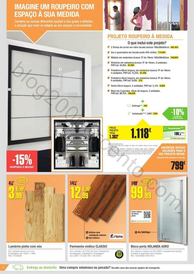 Novo Folheto LEROY MERLIN Promoções de 31 março