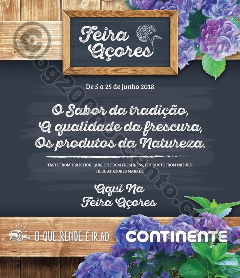 Novo Folheto CONTINENTE Feira Açores Promoções