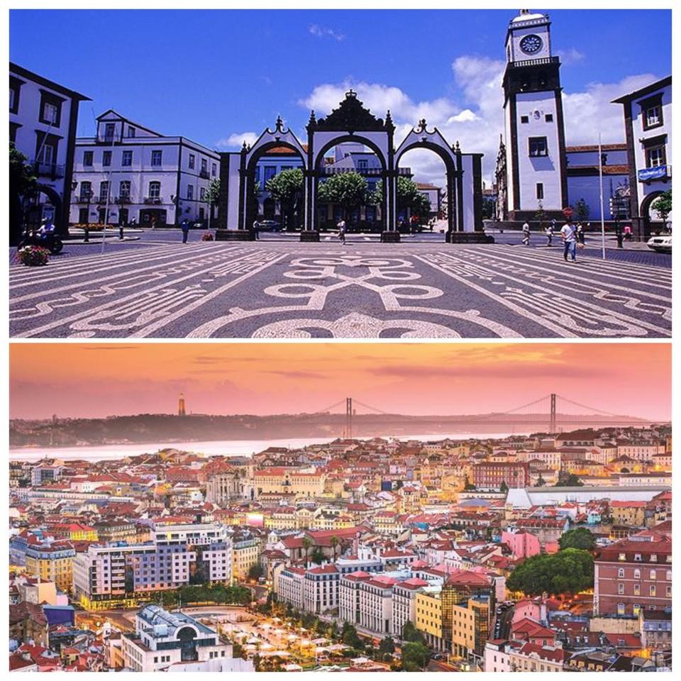 Ponta Delgada e Lisboa.JPG