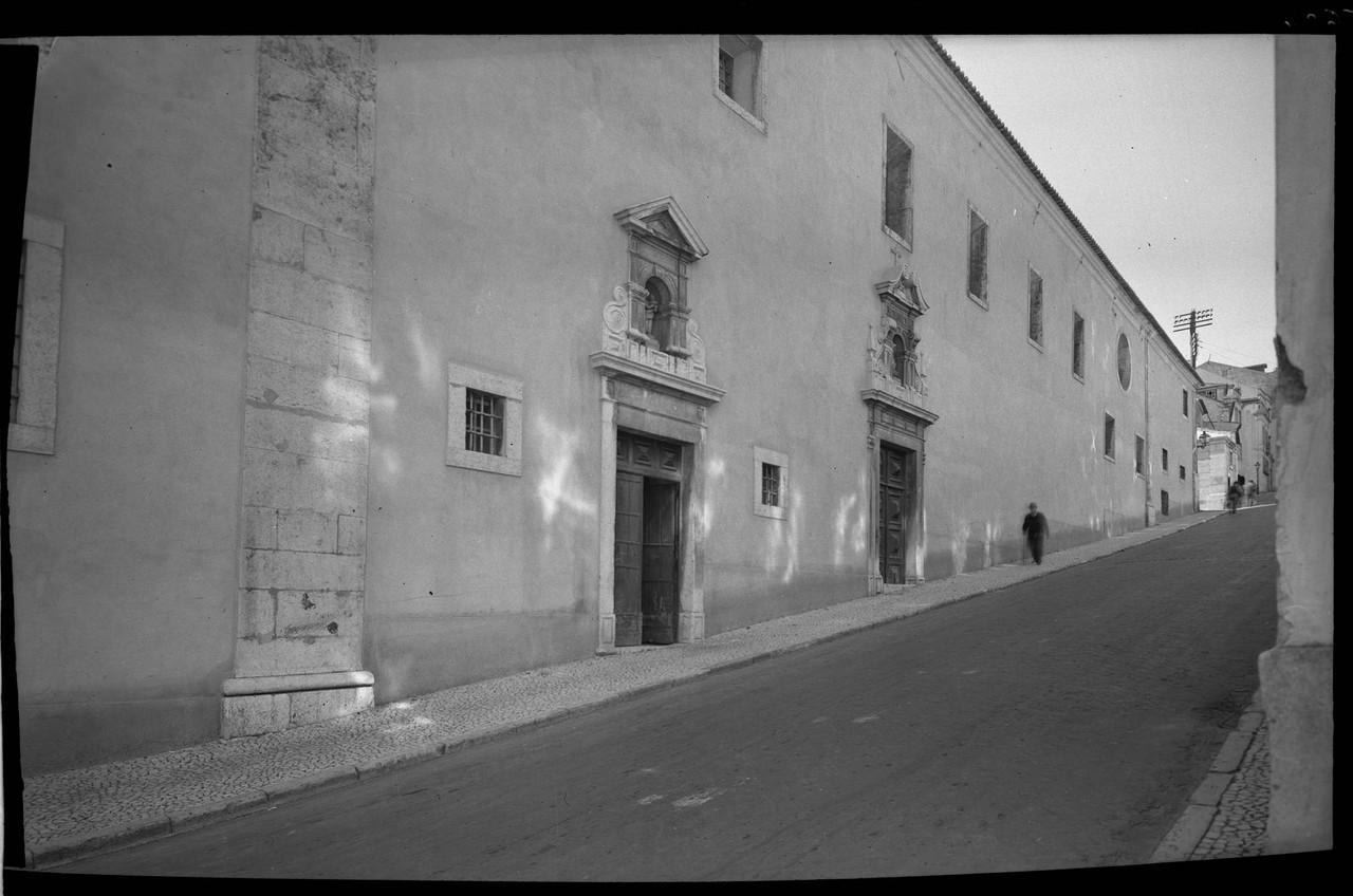 Convento dos Cardais, 1945, foto de J.C.Alvarez, i