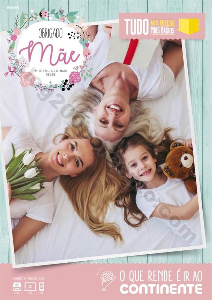 Antevisão Folheto CONTINENTE Especial dia da mãe