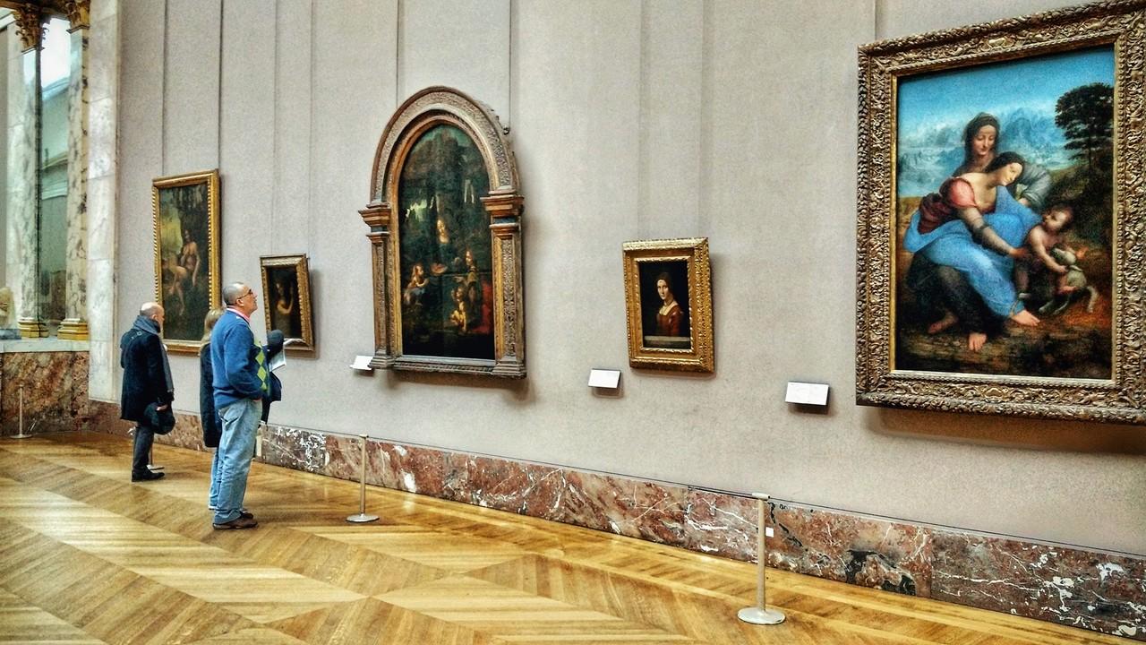 Da Vinci, Louvre © João M. Pereirinha