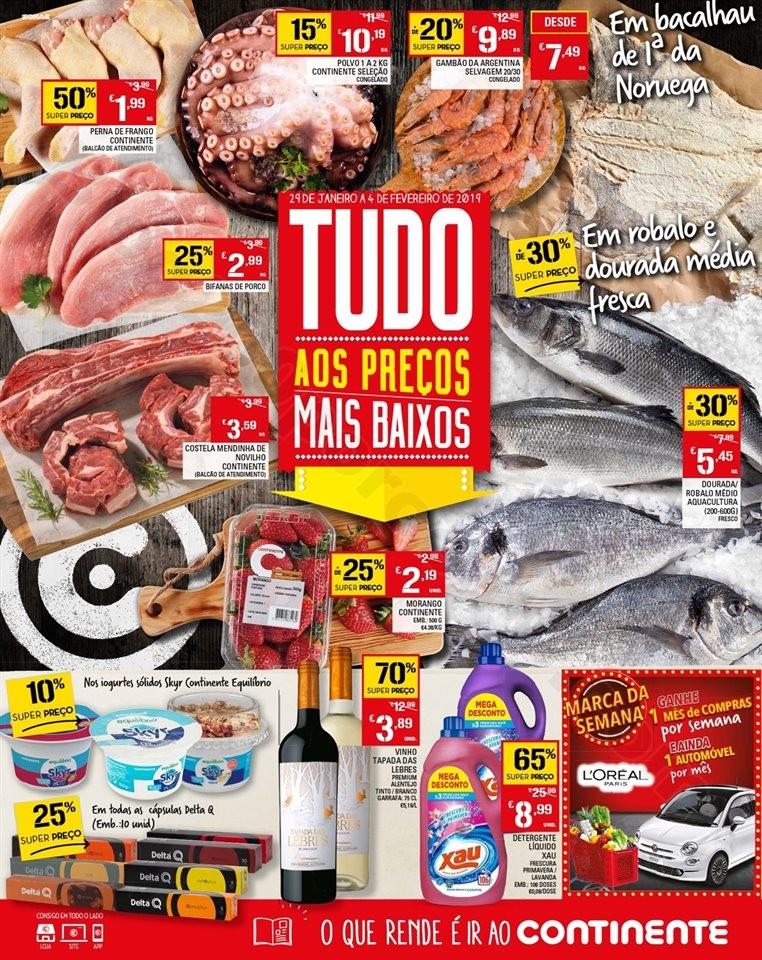 Antevisão Folheto Madeira 29 janeiro a 4 fevereir