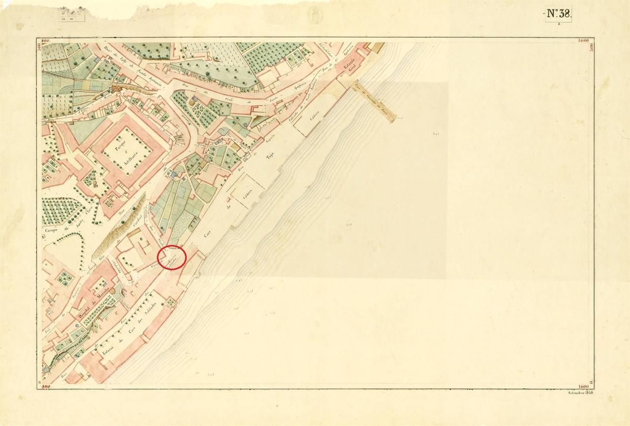 Atlas da carta topográfica de Lisboa N.º 38, 185