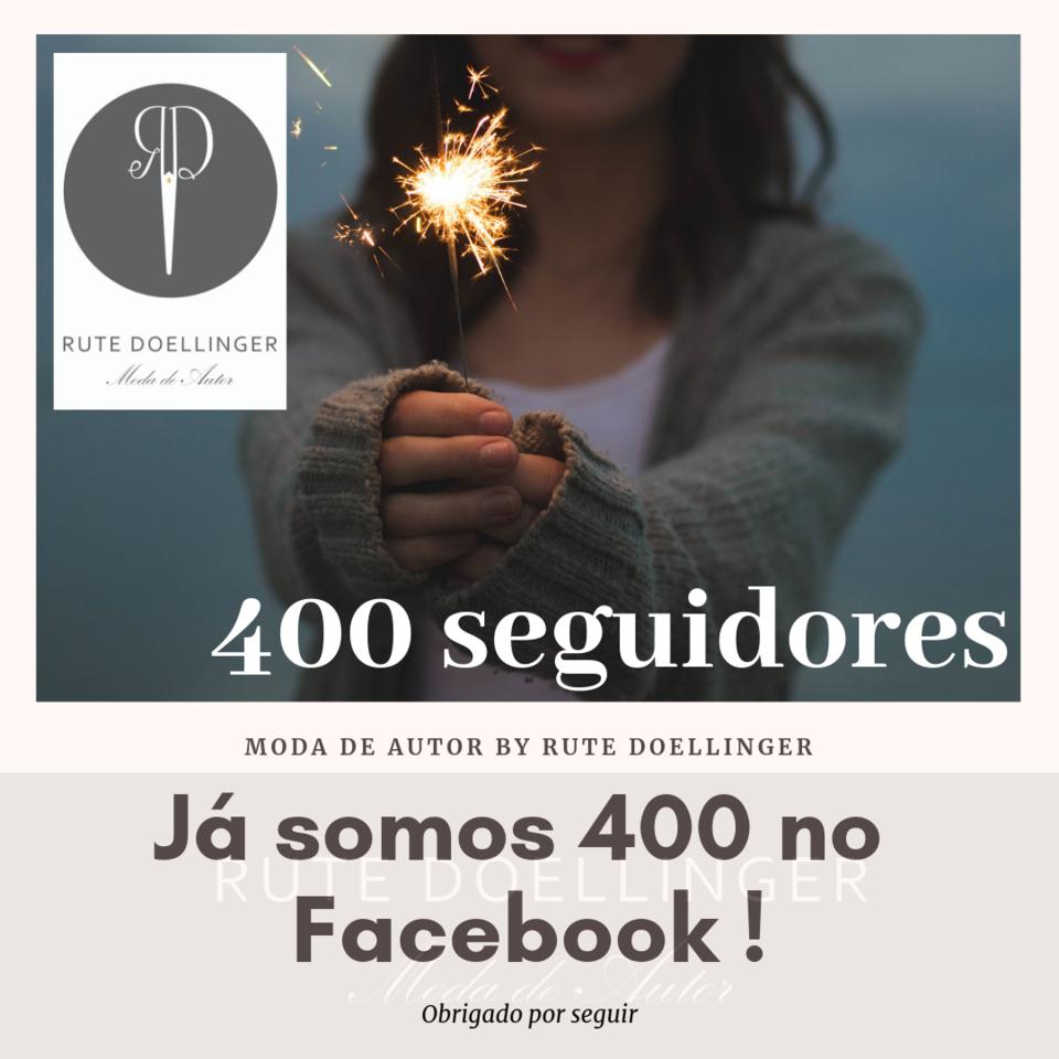 Já somos 400 no Facebook !.png