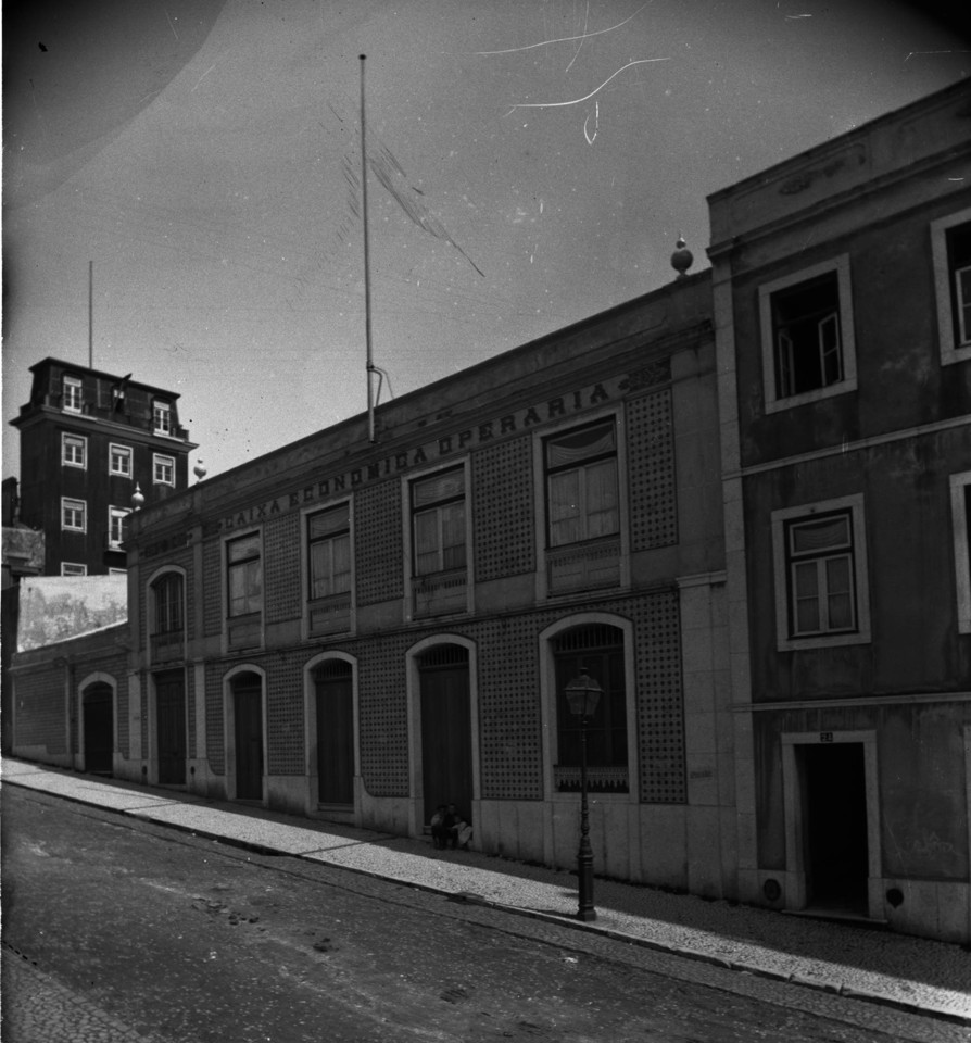 Caixa Económica Operária, 1902, foto de Machado