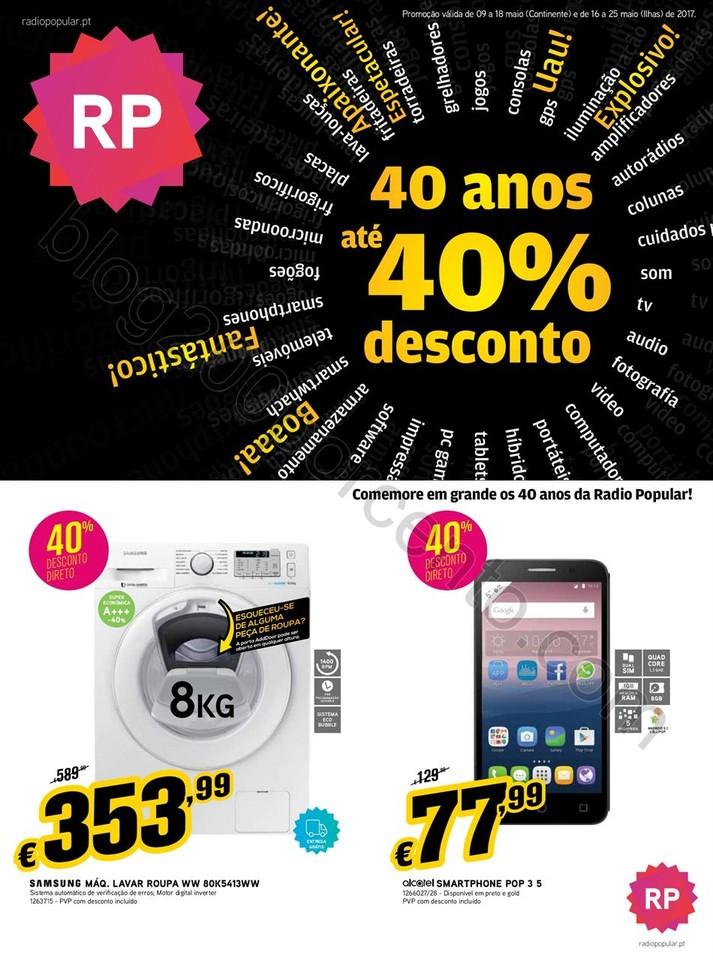 Antevisão Folheto RADIO POPULAR Promoções Anive