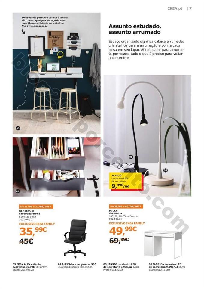 Antevisão Folheto IKEA Promoções de 17 agosto a