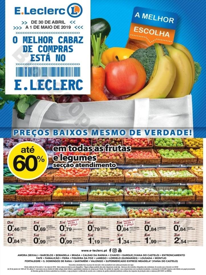 Antevisão Folheto E-LECLERC Especial promoções