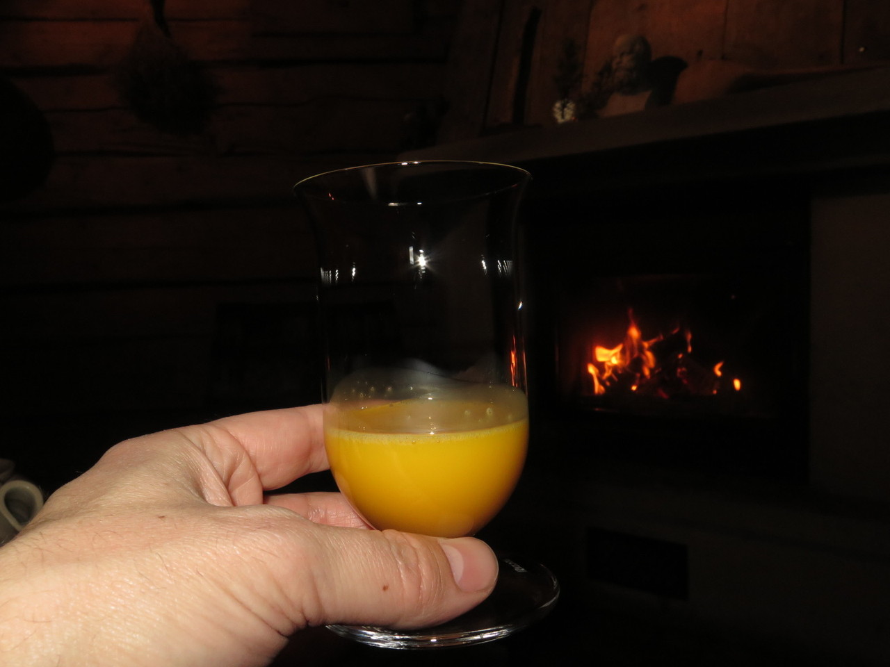 Duck egg yolk liqueur
