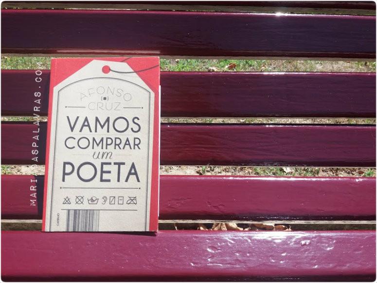 Afonso Cruz - Vamos Comprar um Poeta | Maria das Palavras