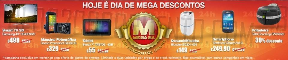 Mega24 | WORTEN | dia 7 janeiro