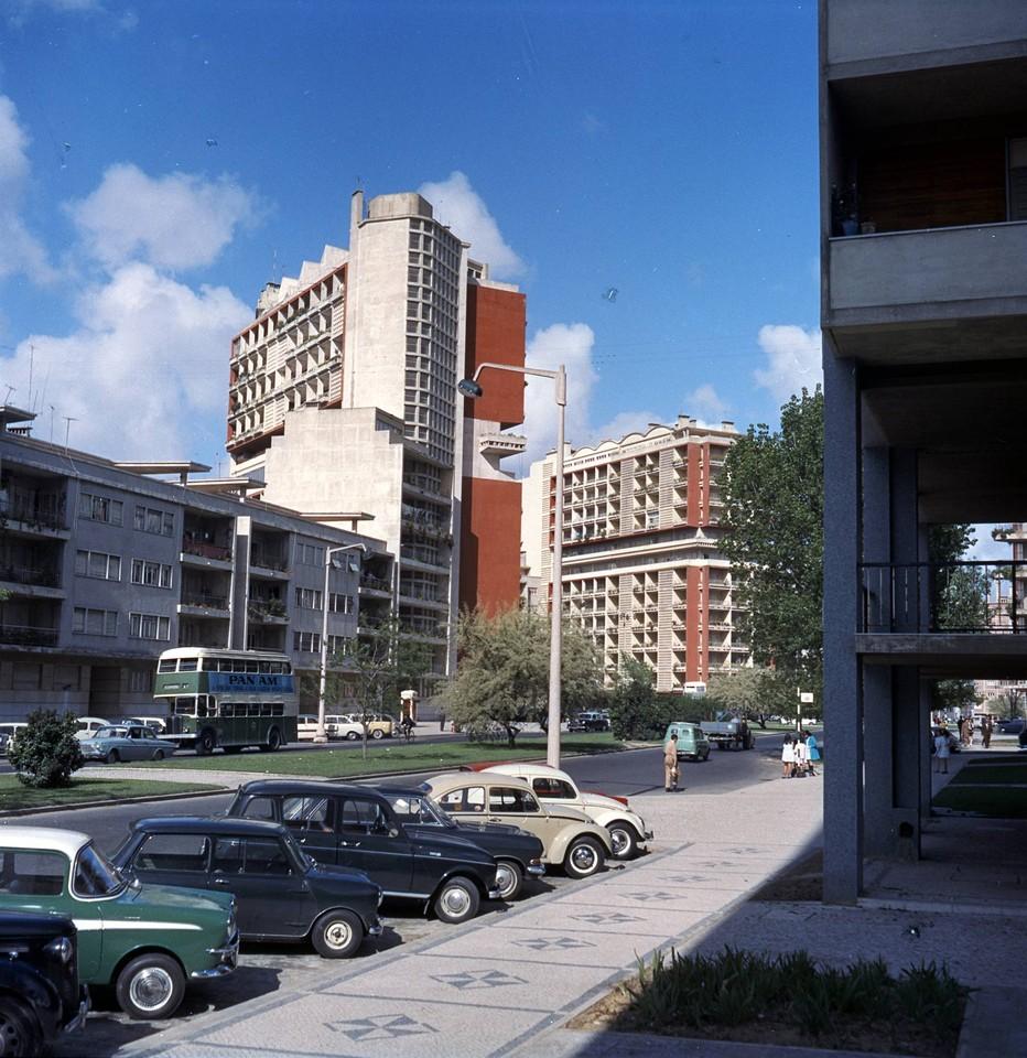 Av. dos E.U.A., Lisboa (A. Pastor, c. 1970)