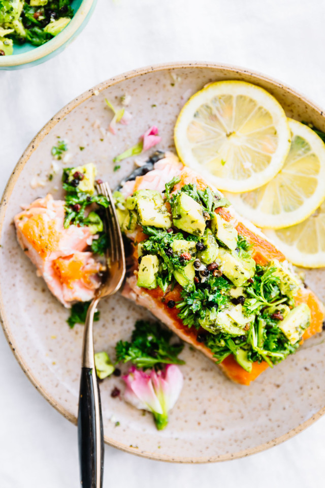 3rd-10-Minute-Pan-Seared-Salmon-with-Avocado-Gremo