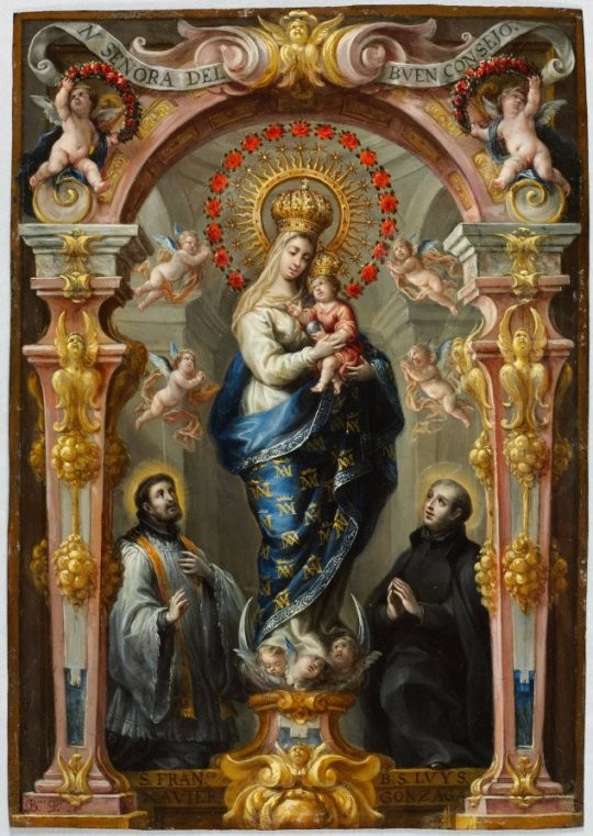 Our Lady of Good Counsel, Bartolomé Pérez, c. 16