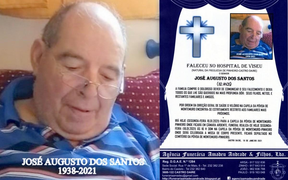 FOTO RIP DE JOSÉ AUGUSTO DOS SANTOS-82 ANOS (POVO