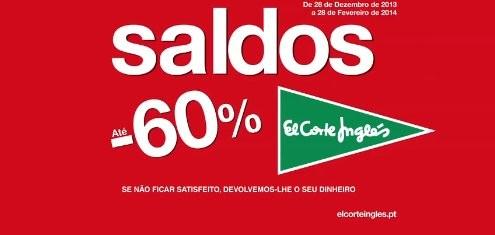 Saldos | EL CORTE INGLÉS | até 60% desconto