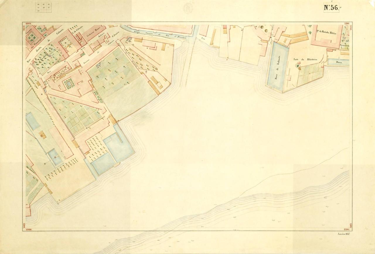 Atlas da carta topográfica de Lisboa, n.º 56, 18