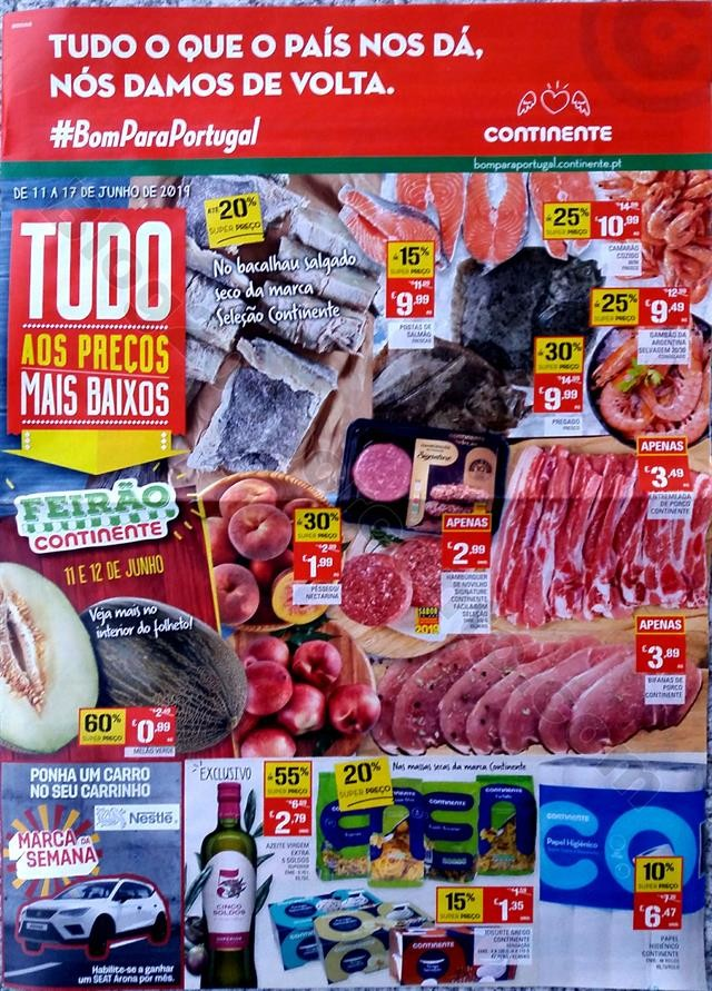 Folheto Promoções Continente Antevisão 11-17 jun
